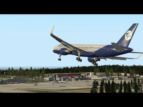 """""""Горит багаж!!"""" Работа системы рандомных отказов на Boeing 757-200 для X-Plane"""