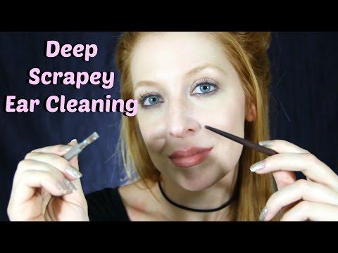 Deep Scrapey Ear Cleaning *ASMR*