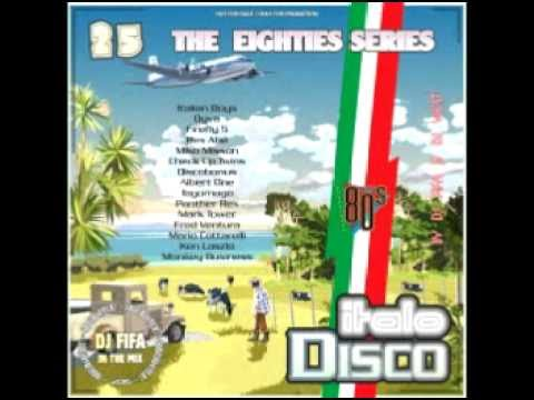 Dj Fifa & Dj West   The 80's Series Italo Disco Mix Vol  25 2016