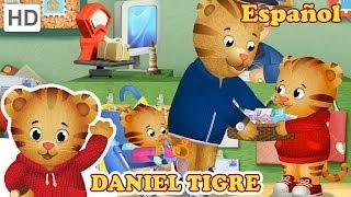 Daniel Tigre en Español 🖌️📫🥕 Ayudando a Papá   Videos para Niños