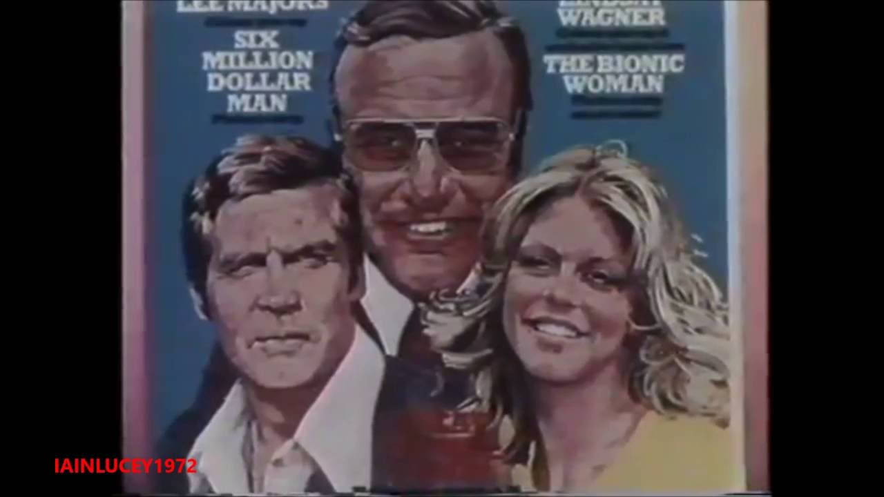 Look In Magazine Tv Advert 1976 The Six Million Dollar Man The Bionic Woman Thames Tv Hd 1080p