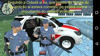 GTA SA ANDROID - MOD PRENDER BANDIDOS 😱
