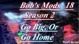 "Factorio With Bob's Mods Season 2 Ep #18 ""Black Market, Biter Attacks & Chemistry"""