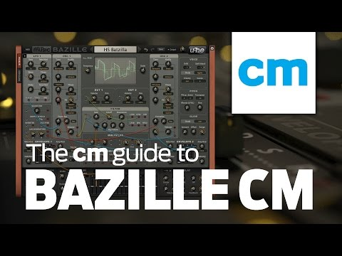 Frequency Modulation with u-he Bazille CM