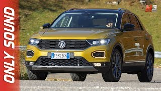NEW VOLKSWAGEN T-ROC 1.6 TDI 2019 - FIRST TEST DRIVE ONLY SOUND