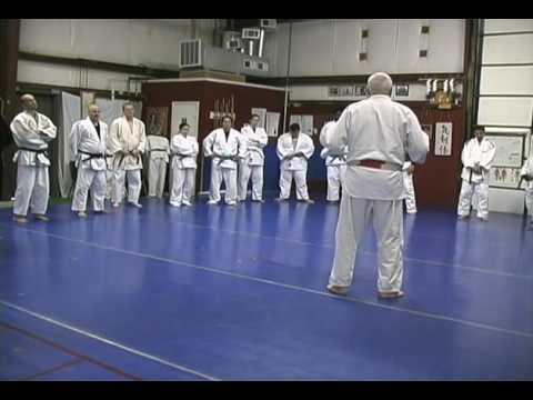 Judo Movement and Balance exercise with Sensei Bob Rea