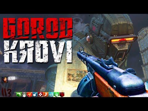 GOROD KROVI - ROUND 35+ FLAWLESS GAMEPLAY/WALKTHROUGH! (Call of Duty: Black Ops 3 Zombies)