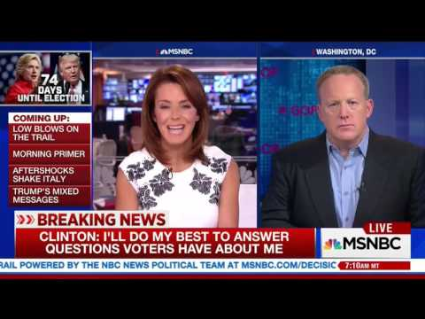 RNC Communications Director Sean Spicer on 'MSNBC Live'