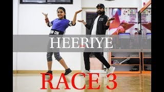 Heeriye - Race 3 | Dance Choreography BY Vijay Akodiya Aka V.j  |