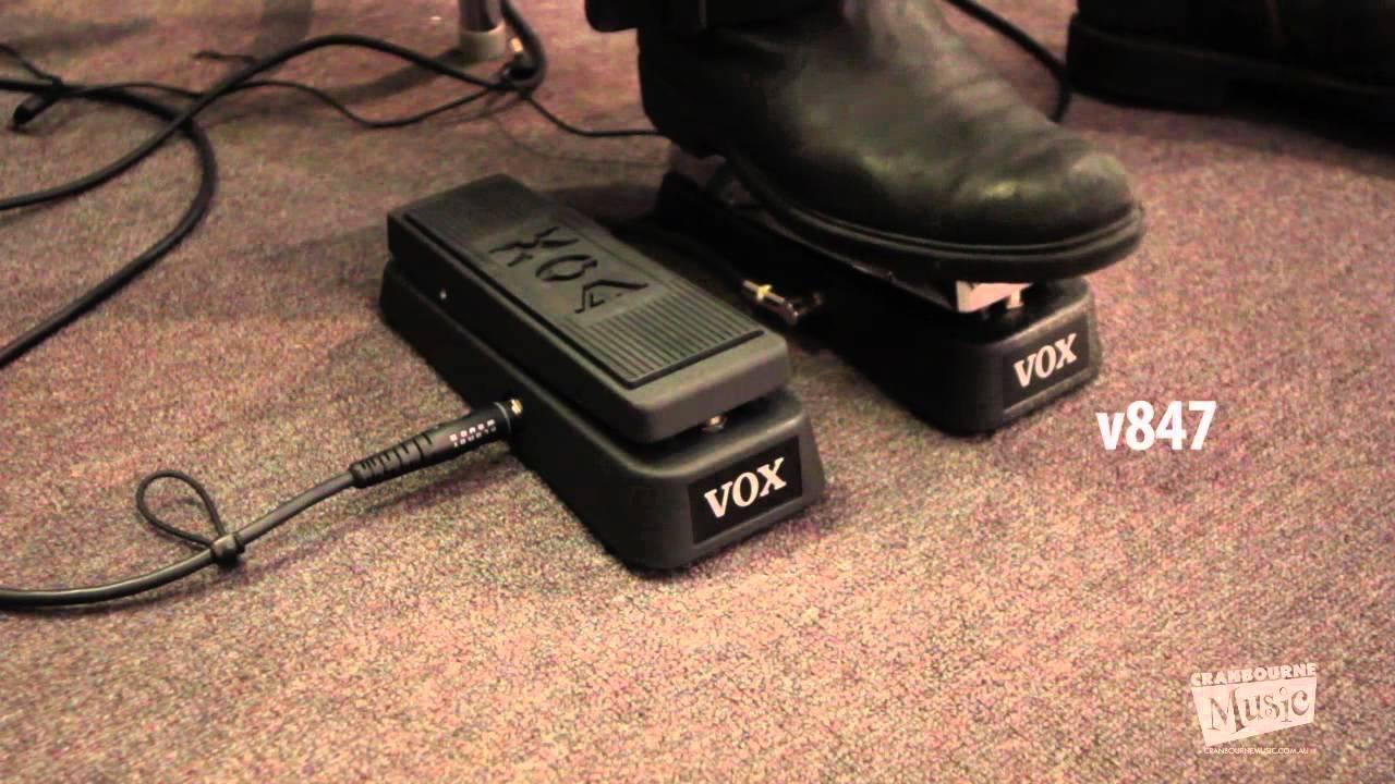 Vox V845 Amp V847 Wah Pedals