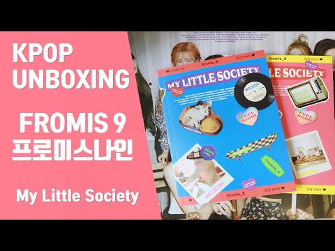 [GIVEAWAY🎁무료나눔] FROMIS_9(프로미스나인) - My Little Society [미니 3집] [My society ver] [언박싱🎁UNBOXING]