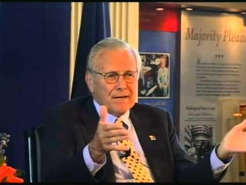 An Afternoon With Donald Rumsfeld