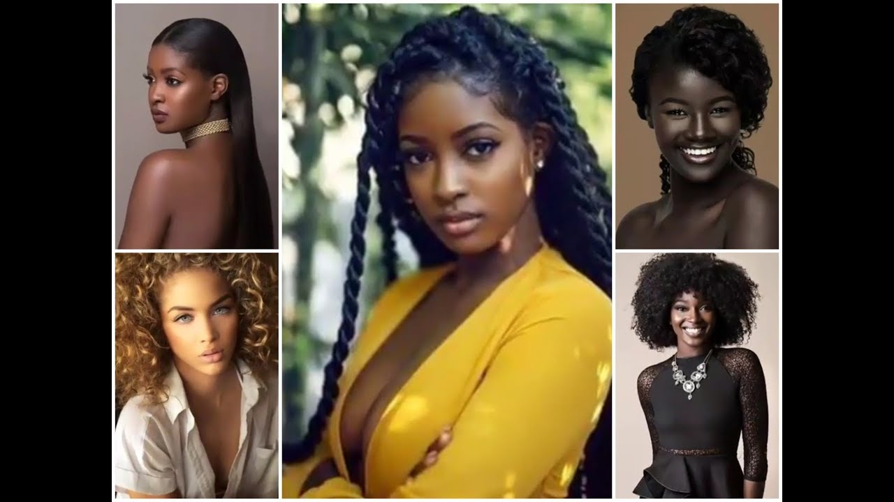 les plus belles femmes africaines youtube. Black Bedroom Furniture Sets. Home Design Ideas