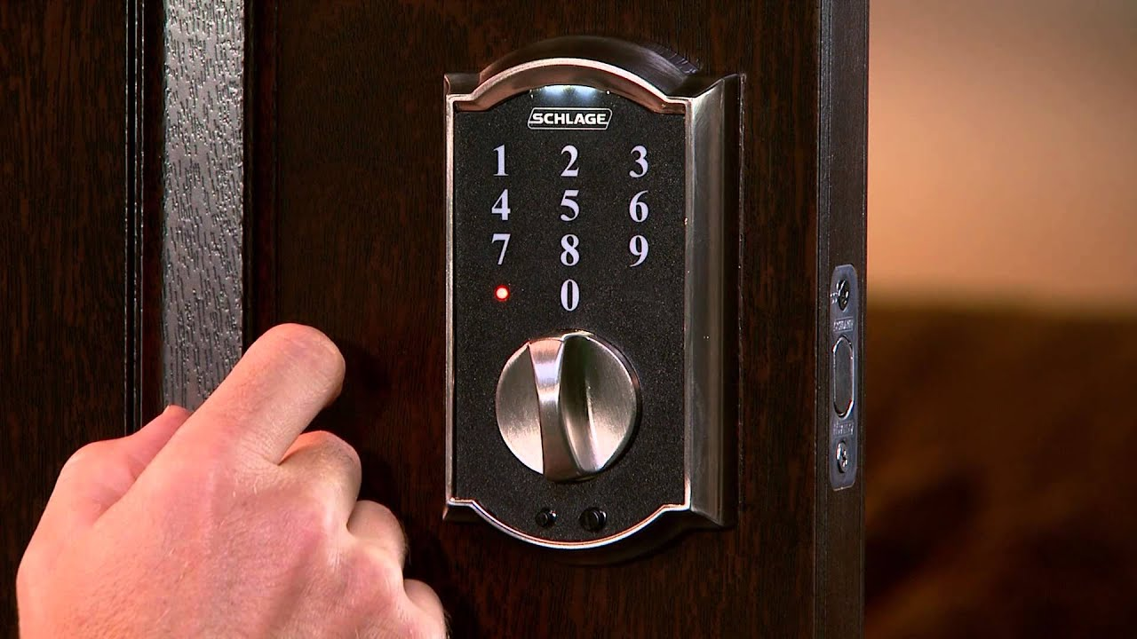 Schlage Touch Programming Tutorial Youtube