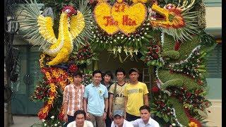 Hướng dẫn làm cổng cưới rồng phụng Miền Tây tại TP Hồ Chí Minh - Bản đầy đủ Full HD