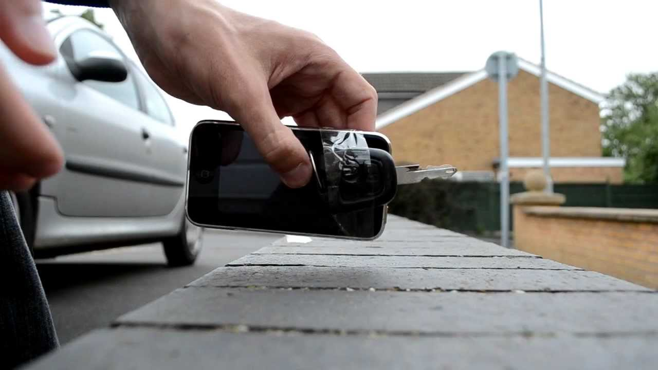 Awesome How To Unlock A Car Door With A Cell Phone   YouTube