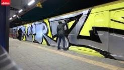 Artistz x RWRZ - Wholecar auf dem S-Bahnhof