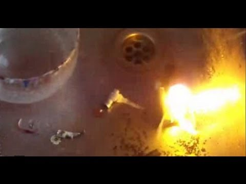 danger nimh battery burn up no explosion but hefty fire flames rh youtube com