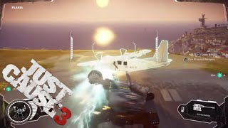 Plane from a Mech - Just Cause 3 Challenges