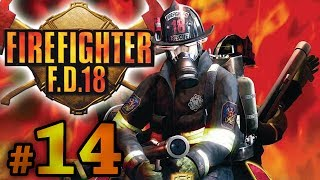 Firefighter F.D. 18 - Stage 4-5 Plant Tank  (PS2) All lost items and survivors