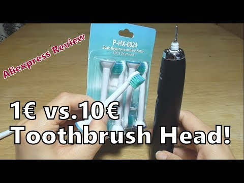 Soft Philips Sonicare DiamondClean Toothbrush Replacement Heads | Aliexpress Review
