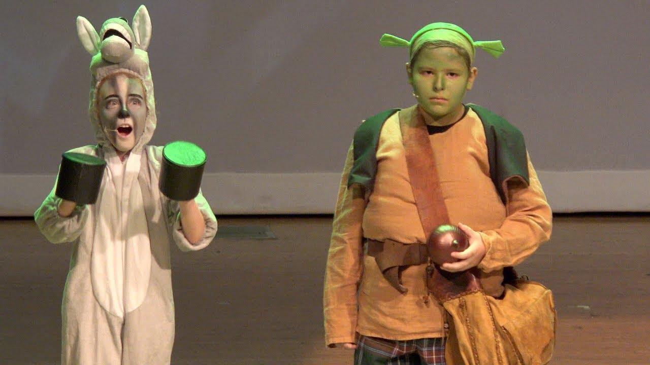 Image result for elementary school play shrek