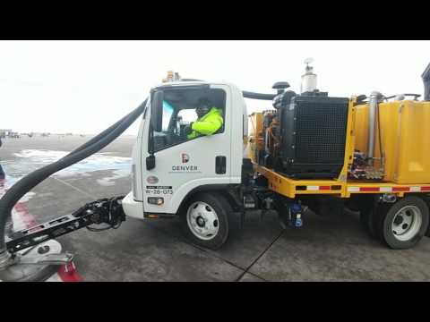 Surface Hog-Paint Cleaning and Rejuvenation-Airport Marking-Denver International Airport