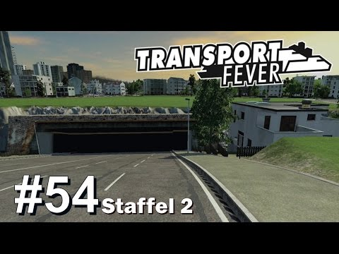 TRANSPORT FEVER S2/#54: Elbtunnel für Hamburg [Let's Play][Gameplay][German][Deutsch]