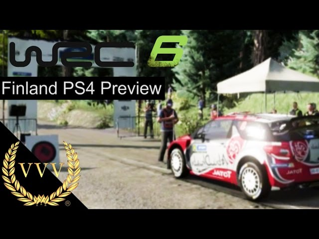 WRC 6 PS4 Preview - Finland Stage