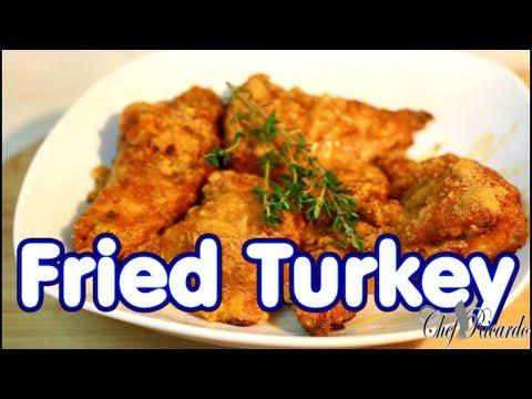 Fried Turkey breast oven Fried Turkey !! #thanksgivingday #Recipe #chefricardocooking.