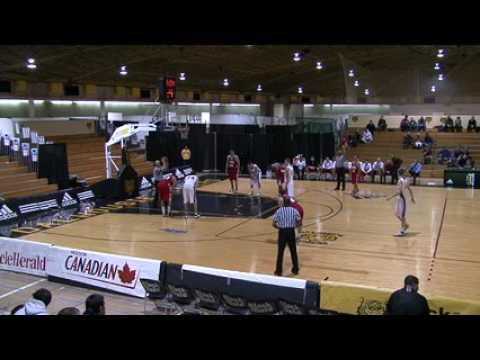 Acadia University Axemen vs Universite Laval Rouge et Or - December 31st 2010