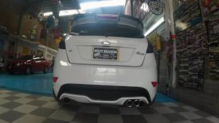 Ford Fiesta - Muffler Borla and tips