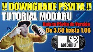 Downgrade PSvita con MODORU - Tutorial Desde 3.68 hasta 1.6  NOVEDAD