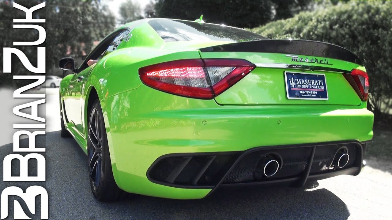 Green Maserati Granturismo Mc Youtube