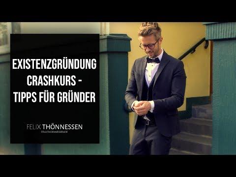 Existenzgründung Crashkurs - Tipps für Gründer #DHDL | felixthoennessen.de