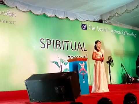 Amazing Christian song .south Korea sis .muni singing song in laf (spiritual)