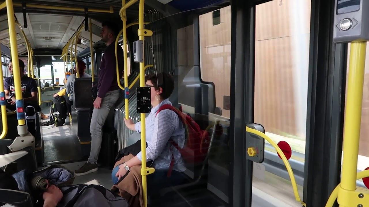 Zagreb Croatia Bus Route 290 Ride 3 April 2019 Youtube