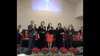 В Вифлиємі у яселках Christmas 2017 Ukrainian Bible Church Florida, North Port FL