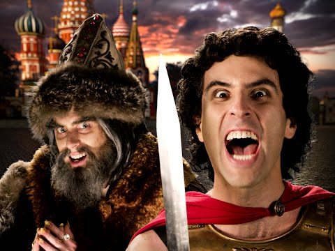Alexander the Great vs Ivan the Terrible. Epic Rap Battles o