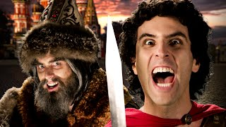 Repeat youtube video Alexander the Great vs Ivan the Terrible - Epic Rap Battles of History Season 5