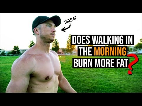 Walking In The Morning On An Empty Stomach Burn More Fat??
