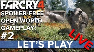Far Cry 4 - Open World Gameplay #2 - Eurogamer Let's Play LIVE