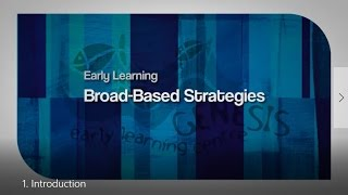 Early Learning Universal Designs for Learning