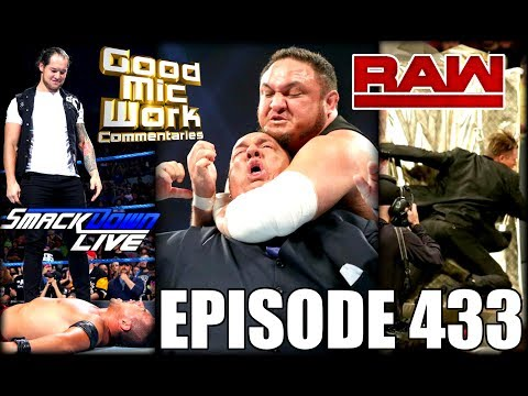 WWE Samoa Joe CHOKES OUT Paul Heyman   Lana Gets Title Shot???   YouTube-Wrestling Adpocalypse
