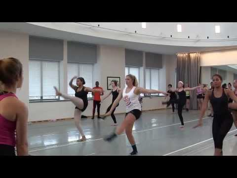 Alvin Ailey Dancer Teaches Master Class To Students At IU