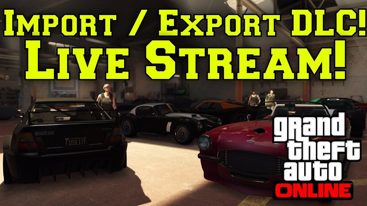 import/export stream