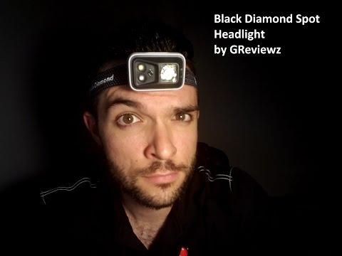 Black Diamond Spot 300 Lumens Headlamp Unbox Review