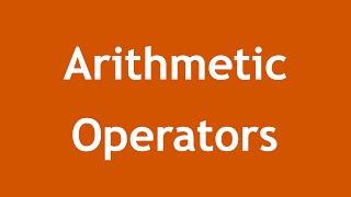 [ Learn PHP 5 In Arabic ] #12 - Arithmetic Operators