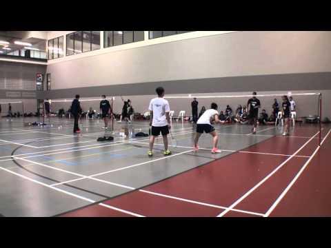 Andrew D'Souza & Chyna Liu vs Nathan Cheung & Vivian Kwok