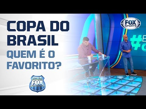 QUEM É O FAVORITO PARA A COPA DO BRASIL? Bom Dia Fox debate sobre semifinalistas